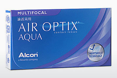 Kontaktlencsék Alcon AIR OPTIX AQUA MULTIFOCAL (AIR OPTIX AQUA MULTIFOCAL AOM6H)