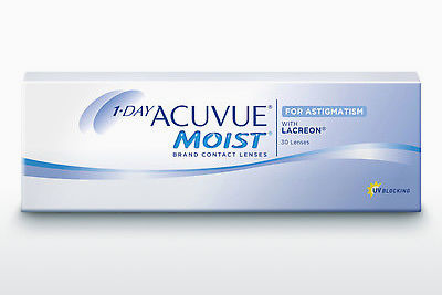 Kontaktlencsék Johnson & Johnson 1 DAY ACUVUE MOIST for ASTIGMATISM 1MA-30P-REV