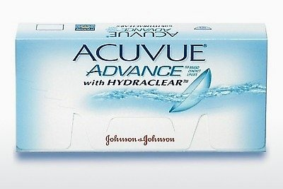 Kontaktlencsék Johnson & Johnson ACUVUE ADVANCE with HYDRACLEAR AVG-6P-REV