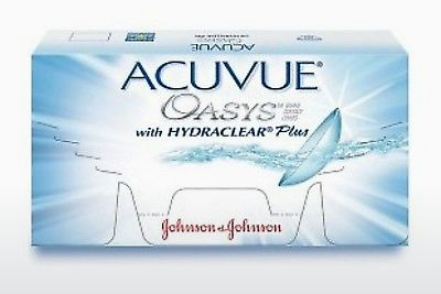 Kontaktlencsék Johnson & Johnson ACUVUE OASYS with HYDRACLEAR Plus PH-6P-REV