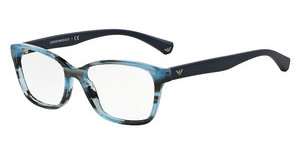 Emporio Armani EA3060 5387 STRIPED BLUE
