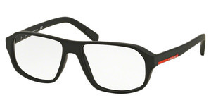 Prada Sport PS 05GV DG01O1 BLACK RUBBER