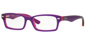 Ray-Ban Junior RY1530 3666 TOP VIOLET ON FUXIA FLUO