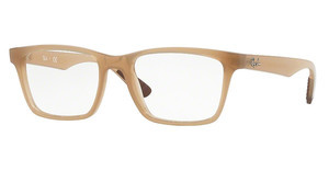 Ray-Ban RX7025 8018 TRASPARENT BEIGE
