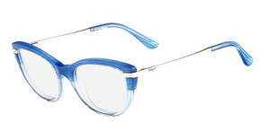 Salvatore Ferragamo SF2731 410 STRIPED BLUE