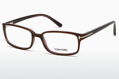 Designer szemüvegek Tom Ford FT5209 047 - Barna, Bright