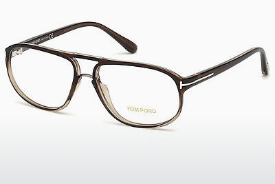 Designer szemüvegek Tom Ford FT5296 050 - Barna, Dark