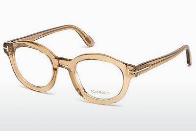 Designer szemüvegek Tom Ford FT5460 045 - Barna, Bright, Shiny