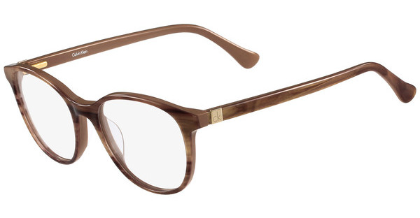 Calvin Klein CK5884 240 STRIPED LIGHT BROWN