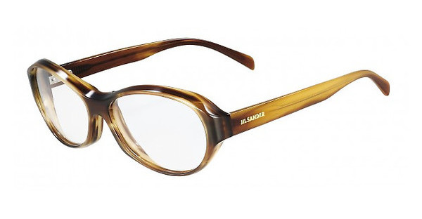 Jil Sander JS2665 236 STRIPED BROWN