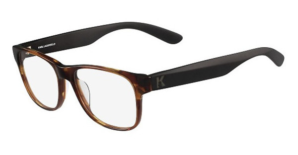 Karl Lagerfeld KL917 033 STRIPED BROWN