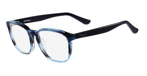 Salvatore Ferragamo SF2739 410 STRIPED BLUE