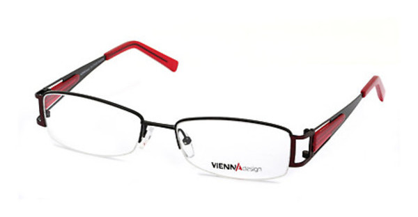 Vienna Design UN367 03 semimatt black-semimatt red