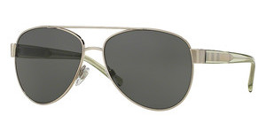 Burberry BE3084 116687 GREYBRUSHED SILVER