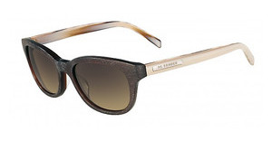 Jil Sander JS687S 905 BROWN STRIPED HORN