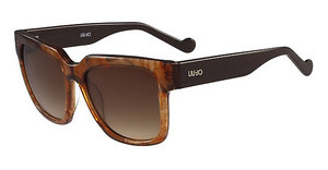 Liu Jo LJ649S 265 STRIPED BROWN
