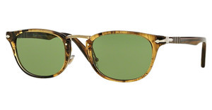 Persol PO3127S 10214E GREENSTRIPED LIGHT BROWN