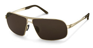 Porsche Design P8542 B-polarized brown polarizedlight gold