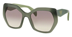 Prada PR 16RS UEI4P2 GREY GRADIENTOPAL DARK GREEN