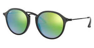 Ray-Ban RB2447 901/4J MIRROR GRADIENT GREENSHINY BLACK