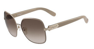 Salvatore Ferragamo SF150S 743 LIGHT GOLD/TAUPE