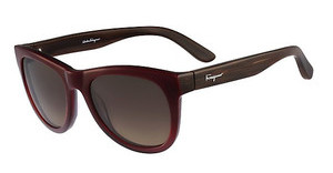 Salvatore Ferragamo SF685S 607 WINE GRADIENT