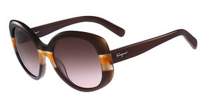 Salvatore Ferragamo SF793S 230 BROWN-ORANGE