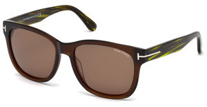 Tom Ford FT0395 48J roviexbraun dunkel glanz