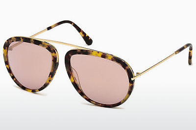 Szemészeti szemüvegek Tom Ford Stacy (FT0452 53Z) - Havanna, Yellow, Blond, Brown