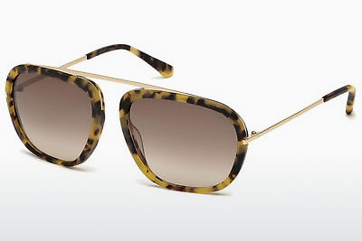Szemészeti szemüvegek Tom Ford Johnson (FT0453 53F) - Havanna, Yellow, Blond, Brown