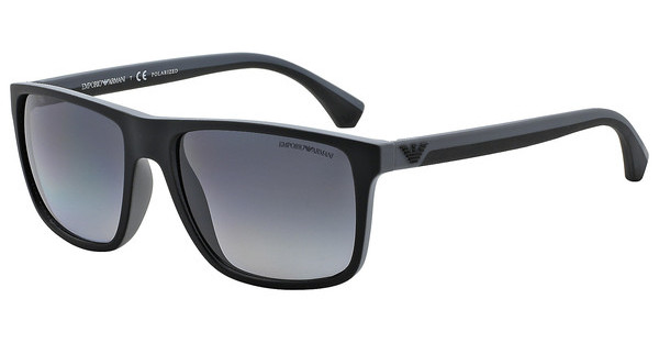 Emporio Armani EA4033 5229T3 POLAR GREY GRADIENTBLACK/GREY RUBBER
