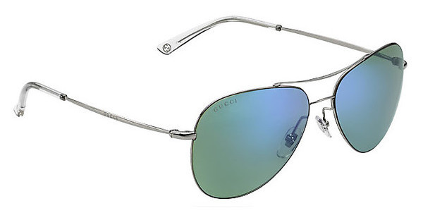 Gucci GG 2245/S 6LB/HZ GREEN MULTYL BLRUTHENIUM (GREEN MULTYL BL)