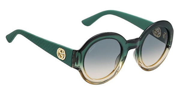 Gucci GG 3788/S LVW/IE BLUE BEIGESHD GREEN