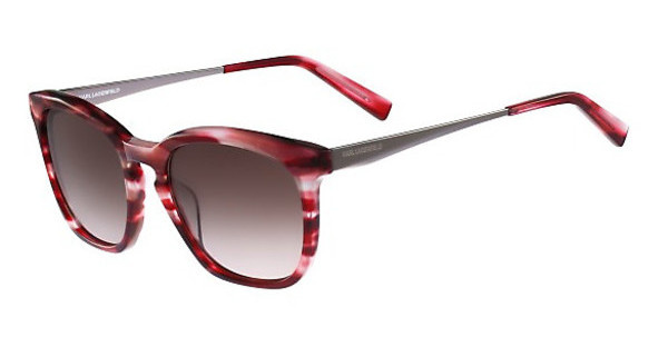 Karl Lagerfeld KL896S 131 STRIPED RED