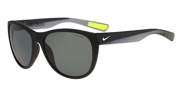 Nike NIKE COMPEL P EV0953 003 MATTE BLACK/SILVER WITH POLARIZED GREY LENS LENS