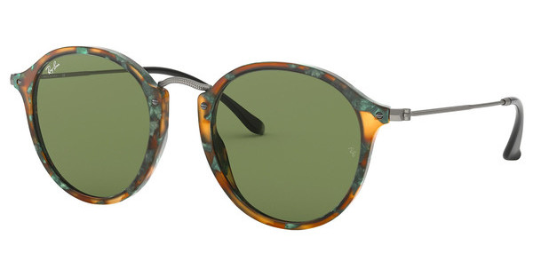 Ray-Ban RB2447 11594E GREENSPOTTED GREEN HAVANA