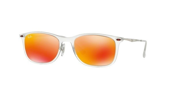 Ray-Ban RB4225 646/6Q BROWN MIRROR ORANGEMATTE TRANSPARENT
