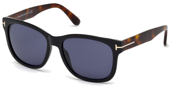 Tom Ford FT0395 01V blauschwarz glanz