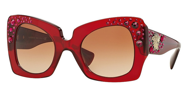 Versace VE4308B 517113 BROWN GRADIENTTRANSPARENT RED