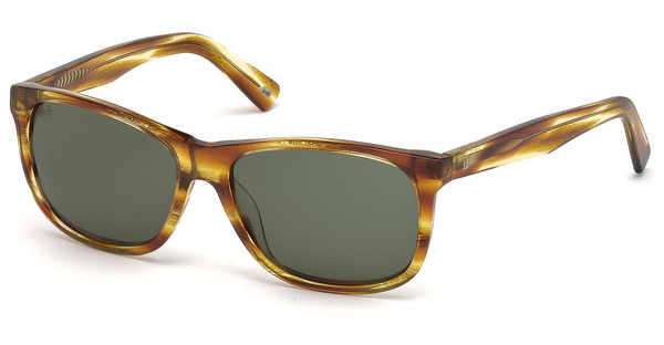 Web Eyewear WE0176 47N grünbraun hell