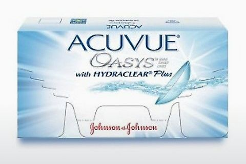 Kontaktlencsék Johnson & Johnson ACUVUE OASYS with HYDRACLEAR Plus PH-12P-REV
