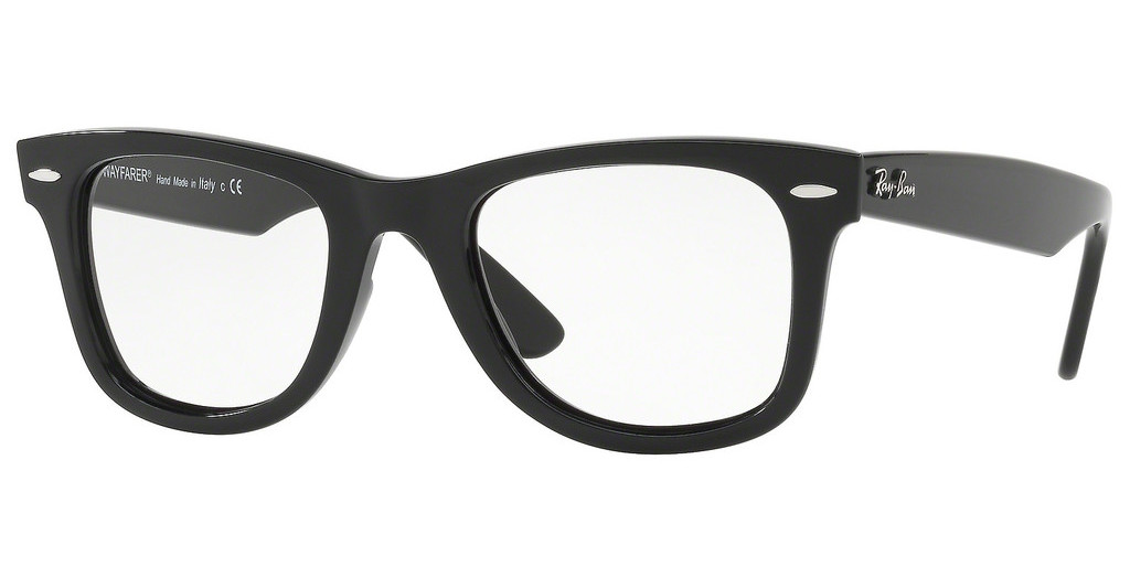 Ray-Ban   RX4340V 2000 SHINY BLACK