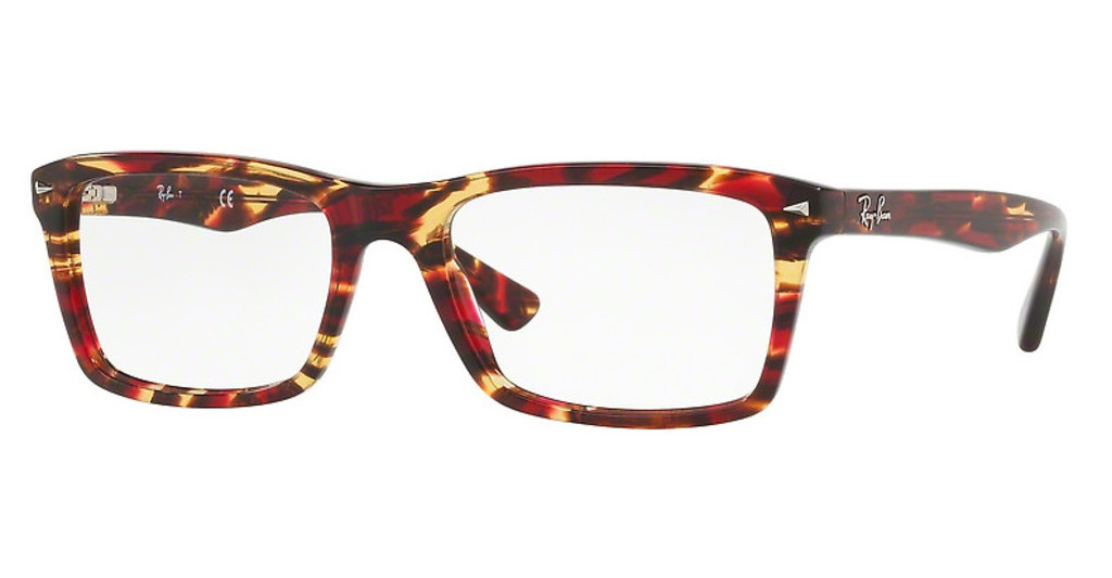 Ray-Ban   RX5287 5710 SPOTTED RED/BROWN/YELLOW