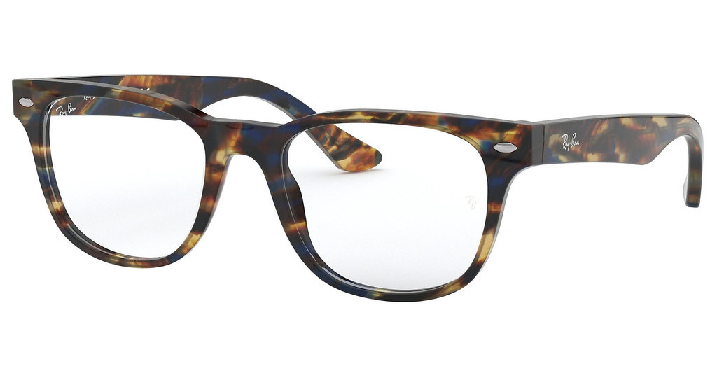 Ray-Ban   RX5359 5711 SPOTTED BLUE/ BROWN/YELLOW