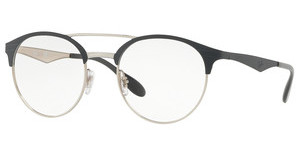 Ray-Ban RX3545V 3004 SILVER ON TOP GREY