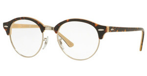 Ray-Ban RX4246V 5239 TOP HAVANA ON OPAL PEACH