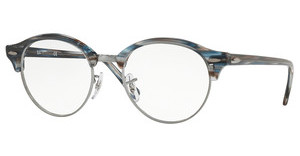 Ray-Ban RX4246V 5750 BLUE/GREY STRIPPED