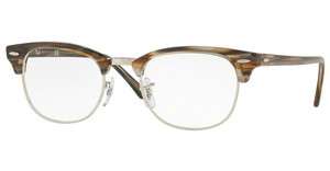 Ray-Ban RX5154 5749 BROWN/GREY STRIPPED