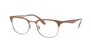 Ray-Ban RX6346 2973 COPPER ON TOP LIGHT BROWN
