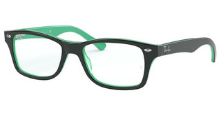 Ray-Ban Junior RY1531 3841 TOP OPAL GREEN/TRANSP GREEN